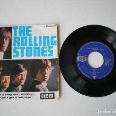 Discos de vinilo: THE ROLLING STONES - CAROL + 3 - DECCA 457036 - EDITADO EN FRANCIA. Lote 115229847