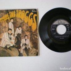 Discos de vinilo: THE TROGGS - WILD THING + 3 - FONTANA 467791 - AÑO 1966. Lote 115231795
