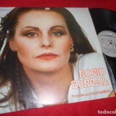 Discos de vinilo: ROCIO DURCAL CON EL MARIACHI VARGAS DE ARTURO MENDOZA VOL.4 LP 1980 ARIOLA SPAIN JUAN GABRIEL. Lote 115234651