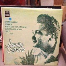 Discos de vinilo: JUANITO SEGARRA: CAMINO VERDE - EMI SERIE AZUL. 1970 EJEMPLAR PROMOCIONAL . Lote 115235291