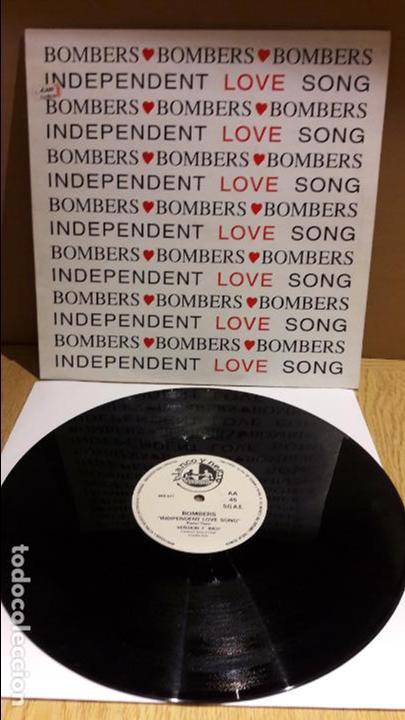 BOMBERS / INDIPENDENT LOVE SONG / MAXI-SG - BLANCO Y NEGRO - 1995 / MBC. ***/*** (Música - Discos de Vinilo - Maxi Singles - Disco y Dance)