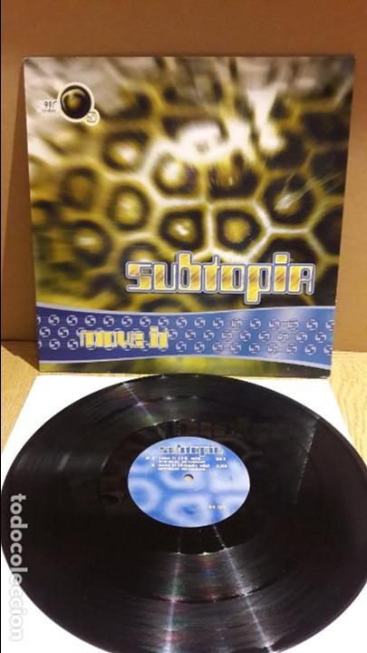 SUBTOPIA / MOVE IT / MAXI-SG - DANCE POOL - 1994 / MBC. ***/*** (Música - Discos de Vinilo - Maxi Singles - Electrónica, Avantgarde y Experimental)
