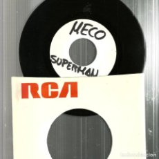 Discos de vinilo: SINGLE DEMO PROMO : MECO - SUPERMAN ( JOHN WILLIAMS ). Lote 115238567