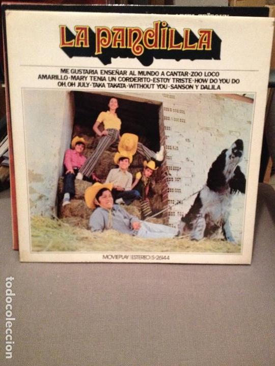 LA PANDILLA MOVIEPLAY 26144 LP INCLUYE TEMA DE P. MCCARTNEY, NILSON WITHOUT YOU, NEIL SEDAKA (Música - Discos de Vinilo - EPs - Grupos Españoles de los 70 y 80)