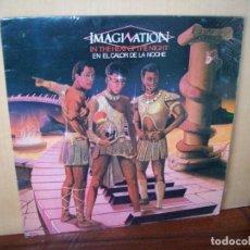 Discos de vinilo: IMAGINATION - EN EL CALOR DE LA NOCHE - LP . Lote 115240039