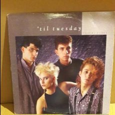 Discos de vinilo: 'TIL TUESDAY / VOICES CARRY / LP-EPIC - 1985 / LIGERO USO / ***/***. Lote 115240447