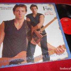 Discos de vinilo: BRUCE SPRINGSTEEN FIRE/FOR YOU/BORN TO RUN/NO SURRENDER/+ MX 12'' 1987 CBS EDICION ESPAÑOLA SPAIN. Lote 115244007