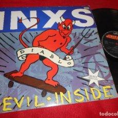 Discos de vinilo: INXS DEVIL INSIDE/DEVIL INSIDE (7'' VER.)/ON THE ROCKS MX 12'' 1988 MERCURY EDICION ESPAÑOLA SPAIN. Lote 115244435