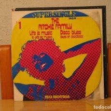 Discos de vinilo: THE RITCHIE FAMILY - LIFE IS MUSIC / DISCO BLUES - RCA SPCO-7099 - 1977 - PARA DISCOTECAS Nº 1. Lote 115245711