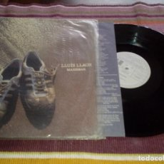 Discos de vinilo: LLUIS LLACH. MAREMAR. ARIOLA 1985. LP CON ENCARTE LETRAS. Lote 115247955