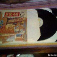 Discos de vinilo: UB40 - BAGGARIDDIM - LP + MAXISINGLE 1985 - PORTADA DOBLE. Lote 115249275