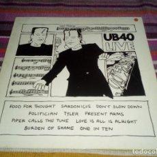 Discos de vinilo: UB40 - LIVE - UK - LP RAREZA. Lote 115250099