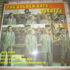 Discos de vinilo: THE GOLDEN GATE QUARTET DOBLE LP - EDICION FRANCESA - SONOPRESSE RECORDS 1977 - MUY NUEVO(5) -. Lote 115254119