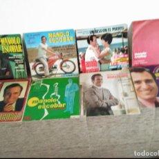 Discos de vinilo: 8 SINGLES MANOLO ESCOBAR. Lote 115274499