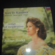 Discos de vinilo: KIRI TE KANAWA. Lote 115274967