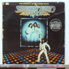 Discos de vinilo: VARIOS-SATURDAY NIGHT FEVER (THE ORIGINAL MOVIE SOUND TRACK) BEE GEES, KOOL & THE GANG.... Lote 115276783