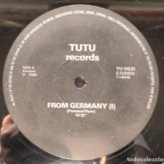 Discos de vinilo: VARIOUS ‎– FROM GERMANY. Lote 115278039