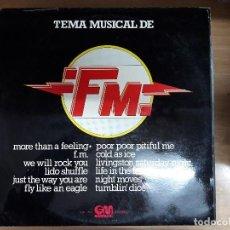 Discos de vinilo: LP TEMA MUSICAL DE FM. Lote 115278407