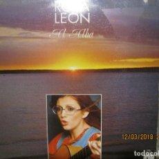 Discos de vinilo: ROSA LEON - AL ALBA LP - ORIGINAL ESPAÑOL - ARIOLA 1975 - STEREO - MUY NUEVO (5) -. Lote 115280015