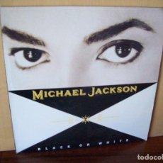 Discos de vinilo: MICHAEL JACKSON -BLACK OR WHITE - MAXI-SINGLE 1991. Lote 115284311