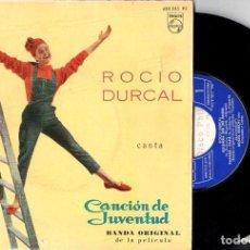 Discos de vinilo: ROCÍO DURCAL : CANCIÓN DE JUVENTUD (PHILIPS, 1962). Lote 115284407
