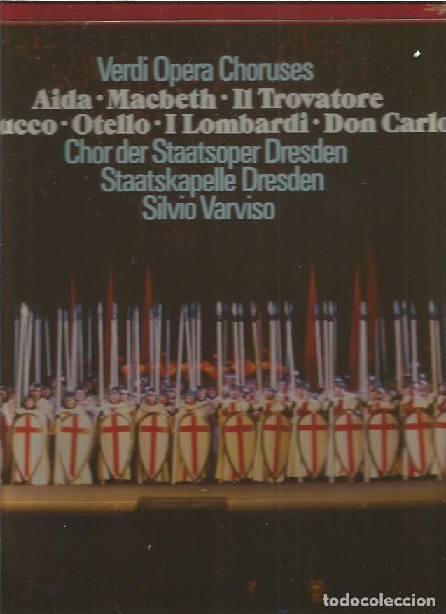 VERDI (Música - Discos - LP Vinilo - Clásica, Ópera, Zarzuela y Marchas)