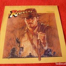 Discos de vinilo: (XM)DISCO-LP - RAIDERS OF THE LOST ARK (EN BUSCA DEL ARCA PERDIDA) - JOHN WILLIAMS - BSO-1981. Lote 115285267