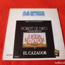 Discos de vinilo: (XM)DISCO-LP-EL CAZADOR(THE DEER HUNTER)-ROBERT DE NIRO-BSO-1982-JOHN WILLIAMS. Lote 115285767