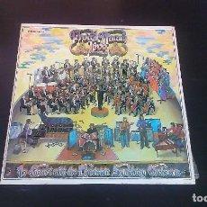 Discos de vinilo: LP PROCOL HARUM IN CONCERT WITH THE EDMONTON SYMPHONY ORCHESTRA PROG ROCK 70'S. Lote 115286287