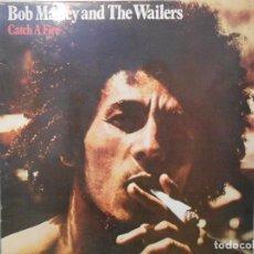 Discos de vinilo: BOB MARLEY -CATCH A FIRE. Lote 115286431