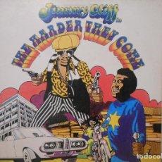 Discos de vinilo: JIMMY CLIFF - THE HARDER THEY COME. Lote 115286811