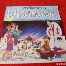 Discos de vinilo: (XM)DISCO-LP 101 DÁLMATAS-EDICION ORIGINAL 1965 CON LA MÚSICA Y DIALOGOS ORIGINALES-RAREZA . Lote 115286835