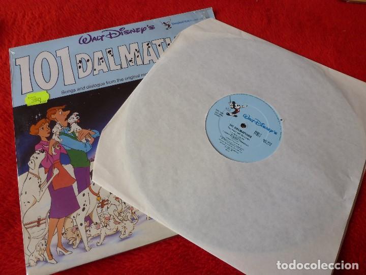 Discos de vinilo: (XM)DISCO-LP 101 DÁLMATAS-EDICION ORIGINAL 1965 CON LA MÚSICA Y DIALOGOS ORIGINALES-RAREZA - Foto 3 - 115286835