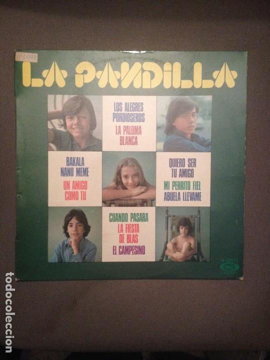 LA PANDILLA: LOS ALEGRES PORDIOSEROS + 9 MOVIEPLAY 1975 (Música - Discos - LPs Vinilo - Música Infantil)