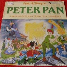 Discos de vinilo: (XM)DISCO-LP PETER PAN (DISNEY)-EDICION 1969 CON LA MÚSICA ORIGINAL-RAREZA ÚNICA EN TODOCOLECCIÓN. Lote 115287451