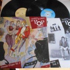 Discos de vinilo: ARCHIVO DE PLATA DEL POP ESPAÑOL-DOBLE LP-GRANDES GRUPOS-VOL.3-LIBRETO. Lote 115291131