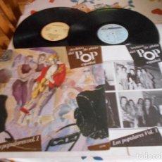 Discos de vinilo: ARCHIVO DE PLATA DEL POP ESPAÑOL-DOBLE LP-LOS POPULARES-VOL. 1-LIBRETO. Lote 115291255
