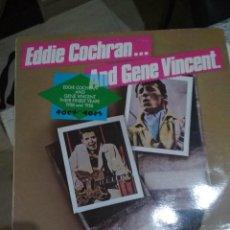 Discos de vinilo: GENE VINCENT EDDIE COCHRAN ROCKABILLY. Lote 115298167