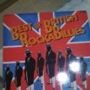 Discos de vinilo: BEST OF BRITISH ROCKS BILLIES ROCKABILLY. Lote 115298339