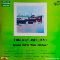 Discos de vinilo: AGRUPACION FOLKLORICA SABUGO ¡ TENTE FIRME !. FOLKLORE ASTURIANO. LP ORIGINAL. Lote 115301371