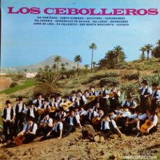 Discos de vinilo: LOS CEBOLLEROS. ISA LARGA. LP ORIGINAL EN BELTER.. Lote 115301459