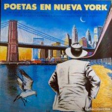 Discos de vinilo: POETAS EN NUEVA YORK. COHEN. BRANDUARDI. DE LUCIA. DONOVAN. BUARQUE... LP + TRIPLE ENCARTE LETRAS. Lote 115301719