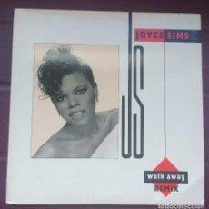 Discos de vinilo: JOYCE SIMS .. WALK AWAY . Lote 115302699