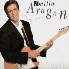 Discos de vinilo: EMILIO ARAGON - TE HUELEN LOS PIES - LP CBS SPAIN 1990. Lote 115303359