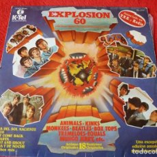Discos de vinilo: (XM)DISCO-EXPLOSION 60 - BEATLES - ANIMALS - KINKS - MONKEES - BYRDS - STATUS QUO - HOLLIES. Lote 115305823