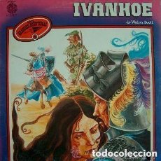 Discos de vinilo: IVANHOE -SERIE GRANDES AVENTURAS - LP DIAL DISCO 1980. Lote 115307775