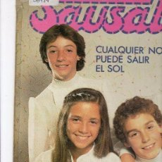 Discos de vinilo: SAUSALITO CUALQUIER NOCHE PUEDE SALIR EL SOL LP 1981 EDIGSA EDICION ESPAÑOLA. Lote 115307935
