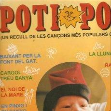 Discos de vinilo: CARME CANELA: POTI POTI (RECULL DE CANÇONS POPULARS CATALANES) LP SPAIN. Lote 115308323