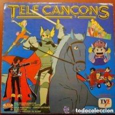 Discos de vinilo: TELE CANÇONS, DELS DIBUIXOS ANIMATS, LP PDI SPAIN 1985. Lote 115308523