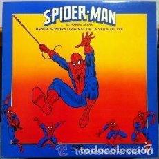 Discos de vinilo: SUPERBANDA– EL HOMBRE ARAÑA - LP RCA SPAIN 1981 (SOLO ES LA PORTADA - NO CONTIENE EL DISCO). Lote 115309107